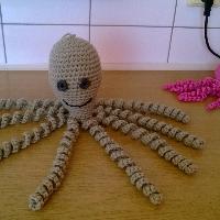 Mega velká háčkovaná chobotnice