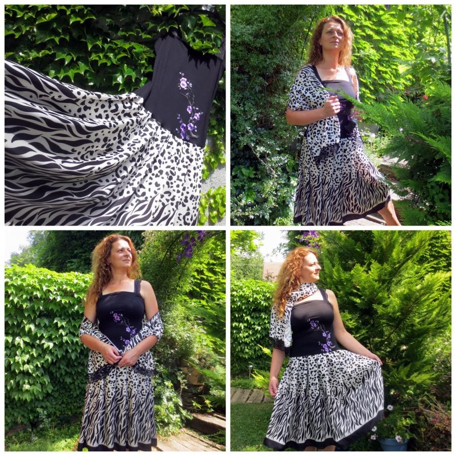 Černobílá letní elegance