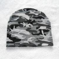 Čepice jednostranná maskáčová šedá