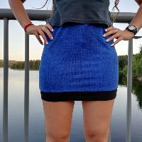 Šitá sukně skladem