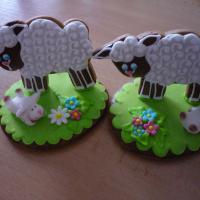 Beránek s malou 3D ovečkou