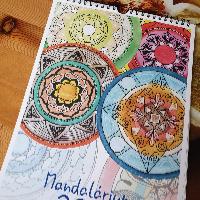 Nástěnný kalendář Mandalárium 2021 - SLEVA