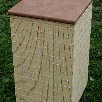 Koš na prádlo - bambus 60