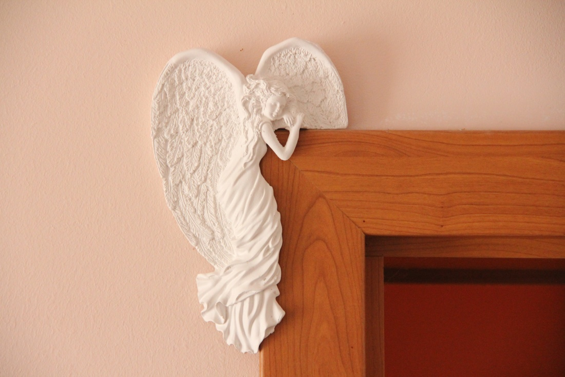 Andělka na dveře