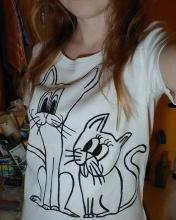 Veselá koťata - recy tričko