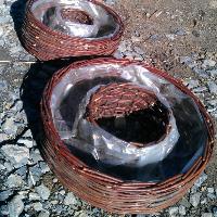 Truhlík kruhový 60cm průměr