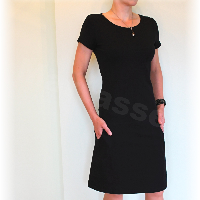 Šaty volnočasové vz.288 (více barev)i dl.rukáv