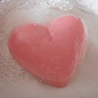 mýdlo -  růžové srdíčko
