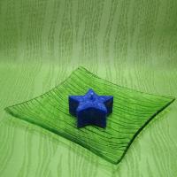 Svíčka z palmového vosku vonná - hvězdička modrá