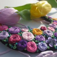 Jarní náhrdelník