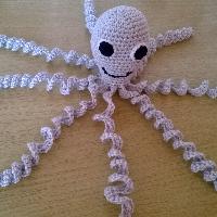 Háčkovaná chobotnička šedá