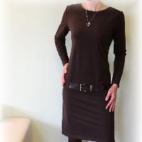 Šaty volnočasové vz.144(více barev)i kr.rukáv