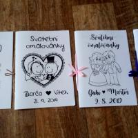 Svatební omalovánky elektronická verze