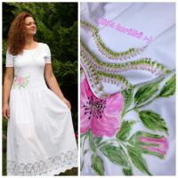 Boho šaty a 1854 korálků