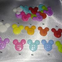 Knoflík Mickey malý