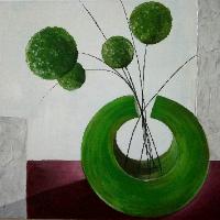 Abstraktní kytice