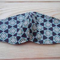 Rouška černá s ornamenty