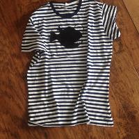 Tričko kotva na proužku