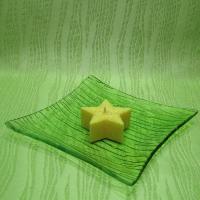 Svíčka z palmového vosku vonná - hvězdička žlutá