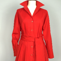 Dámské šaty- Red magic