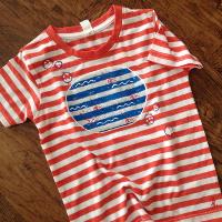 Dětské tričko pro malou námořnice