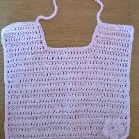 Háčkovaný bryndáček bavlna